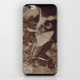 Gypsy Cobs / Horses iPhone Skin