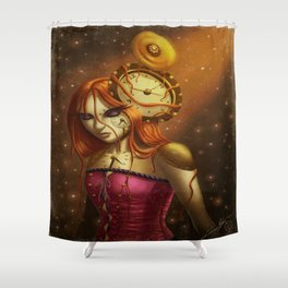 """""""Time After Time..."""" Shower Curtain"""
