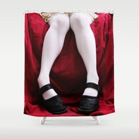 legs Shower Curtains featuring Legs by Vasina Reginiano