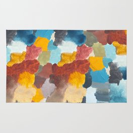 Camouflage Watercolour Marks Rug