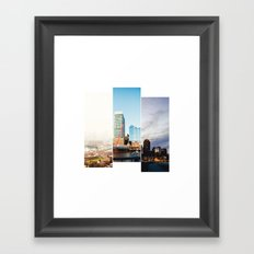 A day in Boston Framed Art Print
