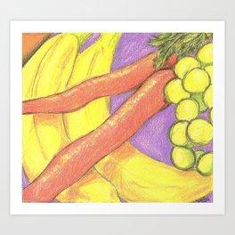 Passion Food Art Print