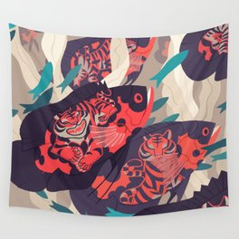 Hot Pursuit Wall Tapestry
