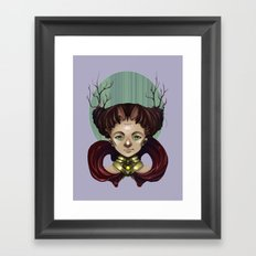 Whispering Framed Art Print