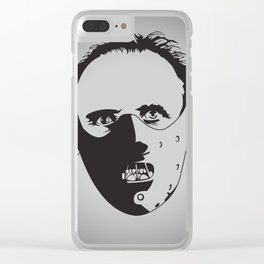 Dr. Hannibal Lecter Clear iPhone Case