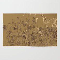 Thin Branches Sepia Rug