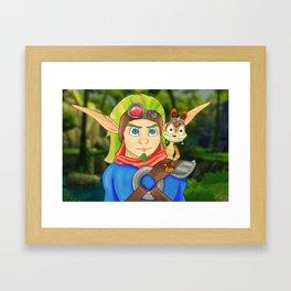 Jak & Daxter Framed Art Print