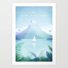 New Zealand Kunstdrucke