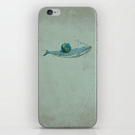 Save the Planet II iPhone Skin