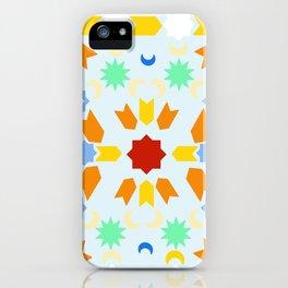 Winter Arabesque iPhone Case
