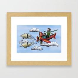 Sky Journey Framed Art Print
