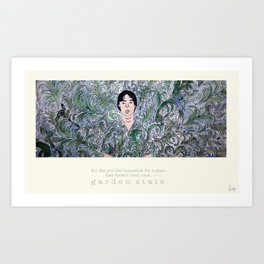 Garden State Art Print