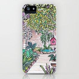 Val's Beautiful Garden iPhone Case