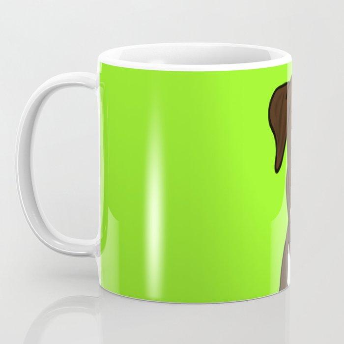 Chico the Brindled Pit Bull Coffee Mug