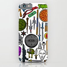 TMNT Weapons & Masks iPhone 6s Slim Case