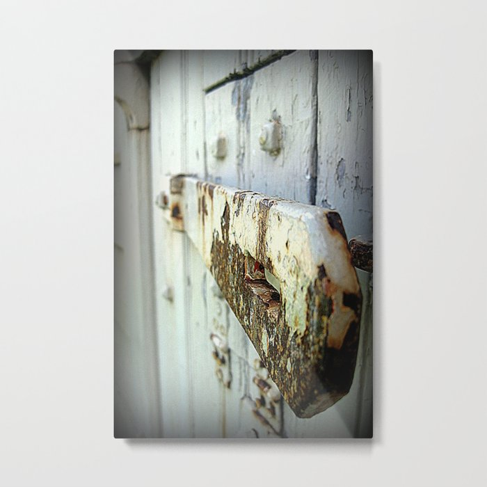Latch (Macro) Metal Print