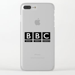 BBC Clear iPhone Case