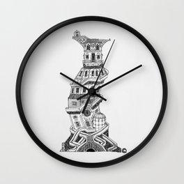 Torre I Wall Clock