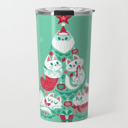 A Very Purry Christmas Travel Mug