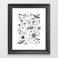 ROCKETS Framed Art Print
