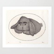 Zayka Art Print