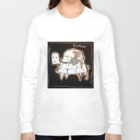 turtle Long Sleeve T-shirts featuring turtle by woman