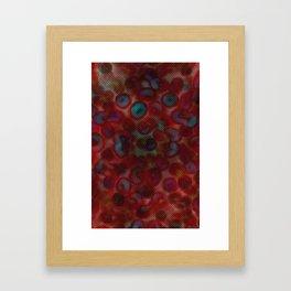 Blue Blood Framed Art Print