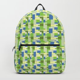 Sim City Inspired Pattern Backpack