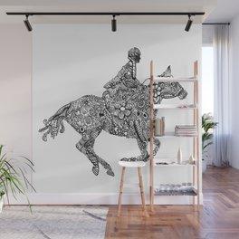Horse Rider Wall Mural
