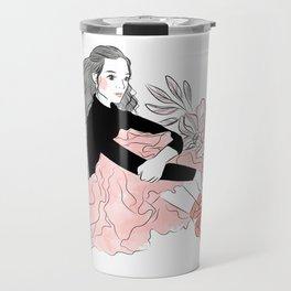 Lovely ballerina Travel Mug
