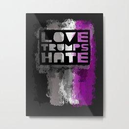 Ace Pride design- Vertical Metal Print