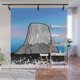 Devils Tower Wall Mural