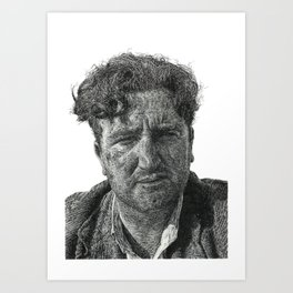 Brendan Behan - Irish Author Art Print