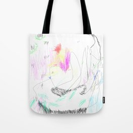 abstract whale Tote Bag