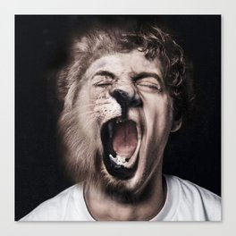 Animorph-Lion Canvas Print