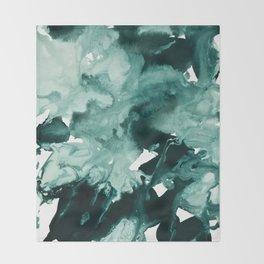 inkblot marble 4 Throw Blanket