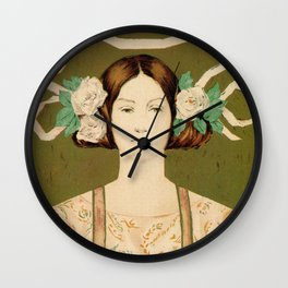 1895 Buffalo Courier for women  New York Wall Clock