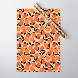 Seamless Citrus Pattern / Oranges Wrapping Paper