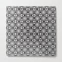 pattern black form 8 by jsebouvi