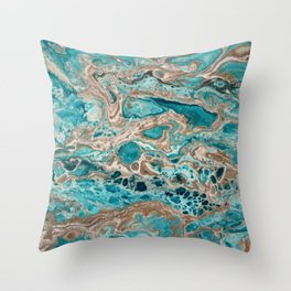 Beach Shallows 6 Throw Pillow