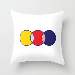 LICHTVENNSTEIN Throw Pillow