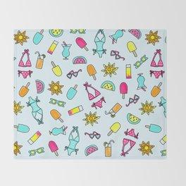 Summer Daze Throw Blanket