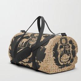 Peru Rustic Shield Duffle Bag