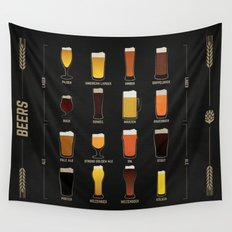 Beer Guide Wall Tapestry