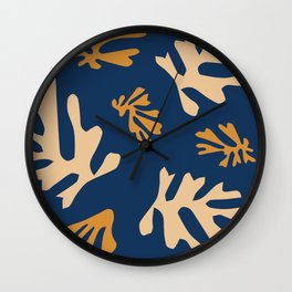 Matisse Fall Leaves Wall Clock