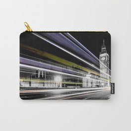Big Ben light trails Carry-All Pouch