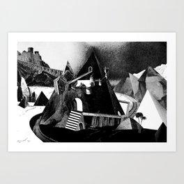 A View Art Print