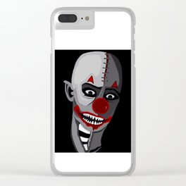 zombie clown Clear iPhone Case
