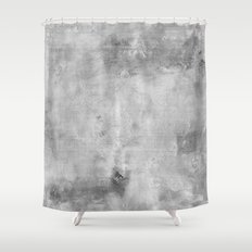 Simply Concrete Gray  Mix And Match With Simplicity Of Life Shower Curtain