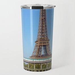 Aerial Metro crossing Bir Hakeim bridge - Paris Travel Mug